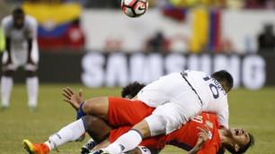 Футболист сборной Чили получил страшную травму в полуфинале Кубка Америки