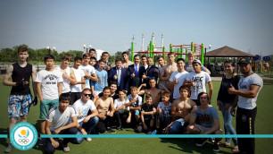 В Актобе НОК начнет строительство спортивных зон street workout