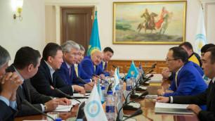 В Астане состоялась встреча президента НОК с олимпийцами