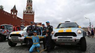 """Казахстанская команда Astana Motorsports стартовала в ралли """"Шелковый путь"""""""