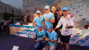 Фоторепортаж: В столице прошла презентация команды Astana Motorsports