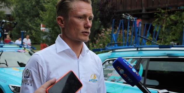 """Еще рано говорить, что """"Астана"""" потеряла подиум на """"Тур де Франс"""" - Винокуров"""