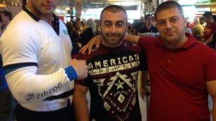 Армрестлер Трубин прибыл в Лас-Вегас на поединок за титул абсолютного чемпиона мира