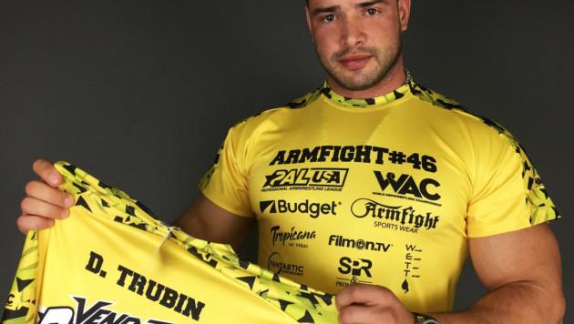 Казахстанец Дмитрий Трубин готовится к завоеванию титула чемпиона мира по армрестлингу