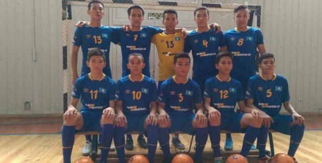 Сборная Казахстана по футзалу вошла в четверку сильнейших на чемпионате мира среди молодежи