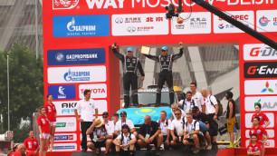 """Astana Motorsports торжественно финишировала на подиуме ралли """"Шелковый путь-2016"""""""