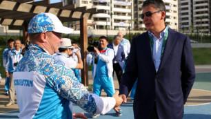 Тимур Кулибаев встретился с казахстанскими олимпийцами в Рио-де-Жанейро