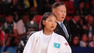 Японская дзюдоистка не пустила казахстанку Отгонцэцэг в полуфинал Олимпиады в Рио
