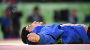 Казахстанец Смагулов проиграл южнокорейскому дзюдоисту во втором круге олимпийского турнира