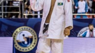 Казахстанский дзюдоист Хамза стартовал с победы на олимпийском турнире в Рио