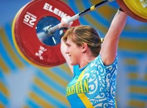 Карина Горичева идет на втором месте после рывка на Олимпиаде