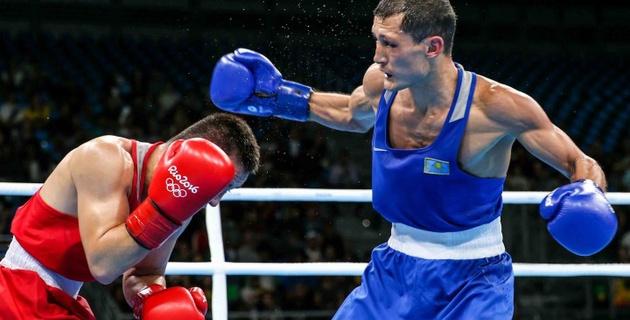 Как Биржан Жакипов проиграл узбекскому боксеру в четвертьфинале Олимпиады в Рио