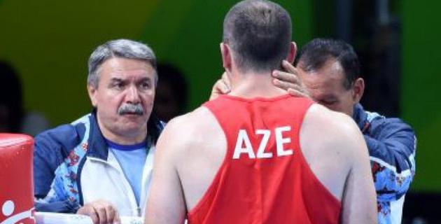 В первом раунде Меджидов победил, но судьи отдали победу Дычко - тренер сборной Азербайджана