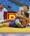 Казахстанский борец Кебиспаев стартовал с победы над главным фаворитом на Олимпиаде в Рио