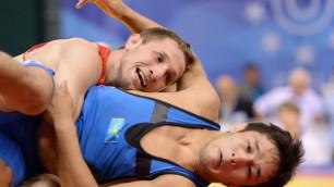 Казахстанский борец Кебиспаев проиграл в 1/8 финала Олимпиады в Рио