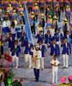 Знаменосец сборной Казахстана проиграл в первом же поединке на Олимпиаде в Рио