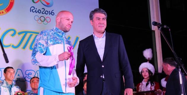 Мы считаем Василия Левита народным олимпийским чемпионом - Исекешев