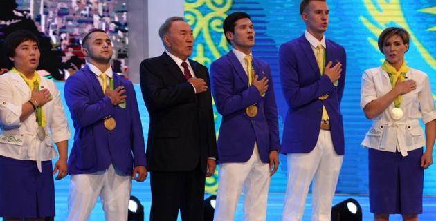 Победители и призеры Олимпиады в Рио награждены орденами Казахстана