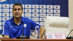 """Мы боремся с """"Ордабасы"""" за третье место, а на наш матч ставят судей из Шымкента - Димитров"""
