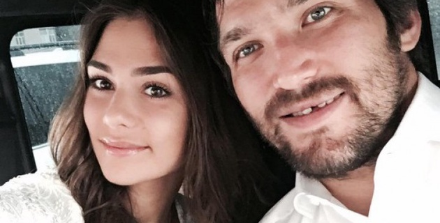 Александр Овечкин женился на дочери актрисы Веры Глаголевой