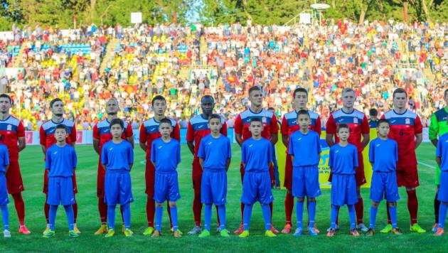 Матч Кыргызстан - Казахстан начнется с минуты молчания по погибшим в пожаре в Москве