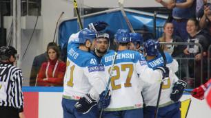 Казахстанские хоккеисты победили Норвегию на старте олимпийского квалификационного турнира