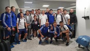 Сборная Казахстана прибыла в Колумбию на чемпионат мира по футзалу
