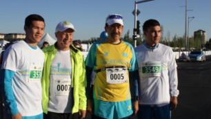 Масимов и Джаксыбеков приняли участие в марафоне в Астане
