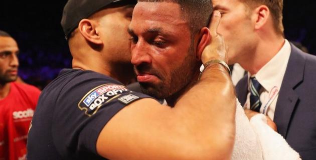 Мой тренер спас меня от более серьезных повреждений - Брук о бое с Головкиным