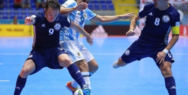 Во встрече с Аргентиной сборной Казахстана не удалась позиционная атака - Амиржан Муканов