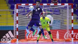 Прямая трансляция матча чемпионата мира по футзалу Казахстан - Соломоновы острова