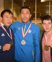 Казахстан завоевал две золотые медали на чемпионате Европы по паратаеквондо