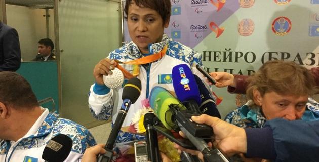 Посвящаю свою медаль Главе государства и народу Казахстана - Раушан Койшыбаева