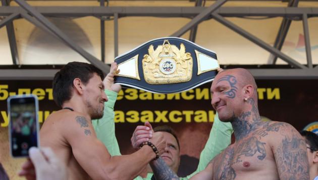 Фируза Шарипова и Иса Акбербаев прошли взвешивание за день до боя в Алматы