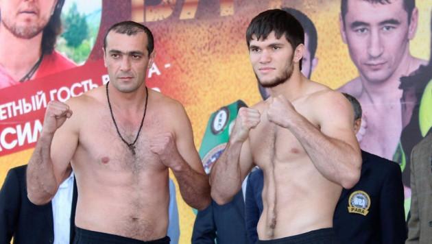 Казахстанский боксер Али Ахмедов нокаутировал соперника на 39-й секунде боя