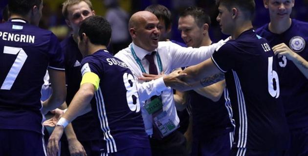 Сборная Казахстана по футзалу после ЧМ вошла в десятку лучших в мировом рейтинге