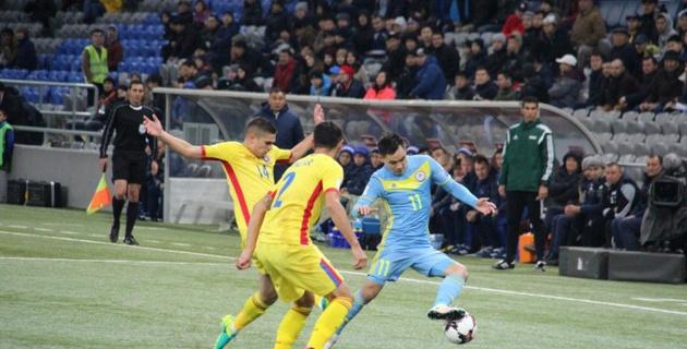 Сборная Казахстана сыграла вничью с Румынией и набрала второе очко в отборе на ЧМ-2018