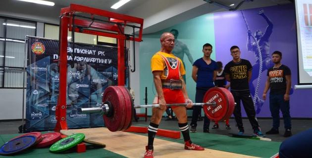В Алматы состоялся чемпионат Казахстана по пауэрлифтингу