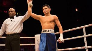 Казахстанский боксер Хусаинов подписал контракт с промоутерами бывшего соперника Головкина