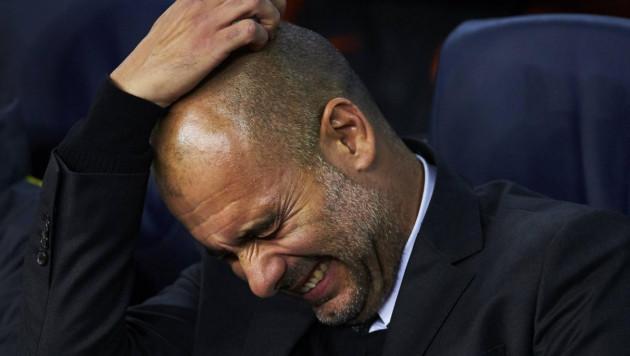 Гвардиола впервые в карьере не выиграл ни в одном из шести матчей подряд