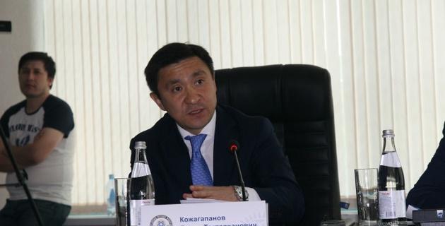 Ерлан Кожагапанов подал в отставку с поста президента ФФК