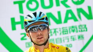 """Завтра на """"Туре Хайнаня"""" последний бой, Луценко будет отстаивать желтую майку - спортдиректор """"Астаны"""""""
