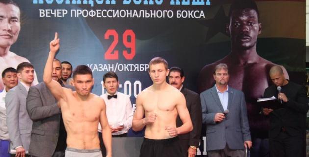 Казахстанский боксер Жумабеков дебютировал с досрочной победы в профи-ринге