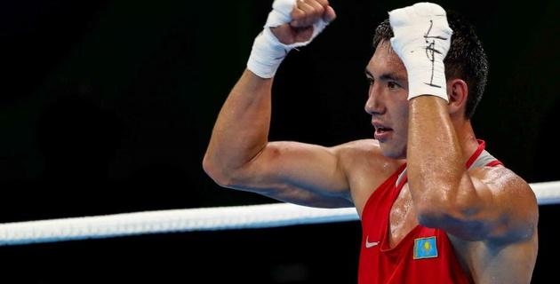 Как Алимханулы нокаутировал экс-соперника Головкина в дебютном бою на профи-ринге