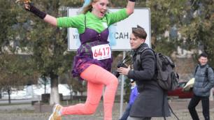 В Алматы состоялся первый женский забег