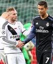 """Реал"" едва не проиграл ""Легии"" в Лиге чемпионов, ведя с преимуществом в два мяча"