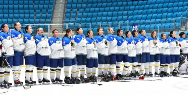 Казахстанские хоккеистки выиграли второй матч подряд в квалификации Олимпиады-2018