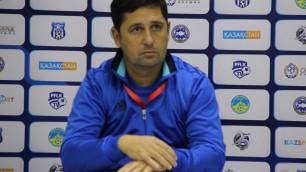 """Тренер """"Тараза"""" объяснил поражение от """"Алтая"""" отсутствием настроя"""