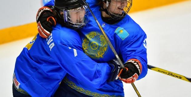 Казахстанские хоккеистки выиграли первый этап квалификации Олимпиады-2018