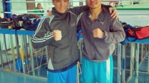 Я тренировался с Канатом Исламом, а потом меня пригласили в Китай - боксер Жанабаев